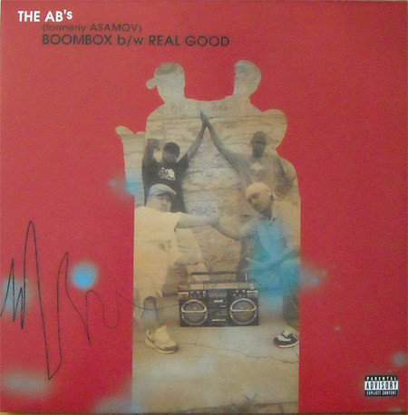Boombox/Real Good 12 inch cover
